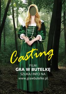 Plakat CASTING - ASTRID
